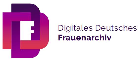 Logo Digitales Deutsches Frauenarchiv