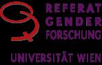 Logo Referat Genderforschung Uni Wien